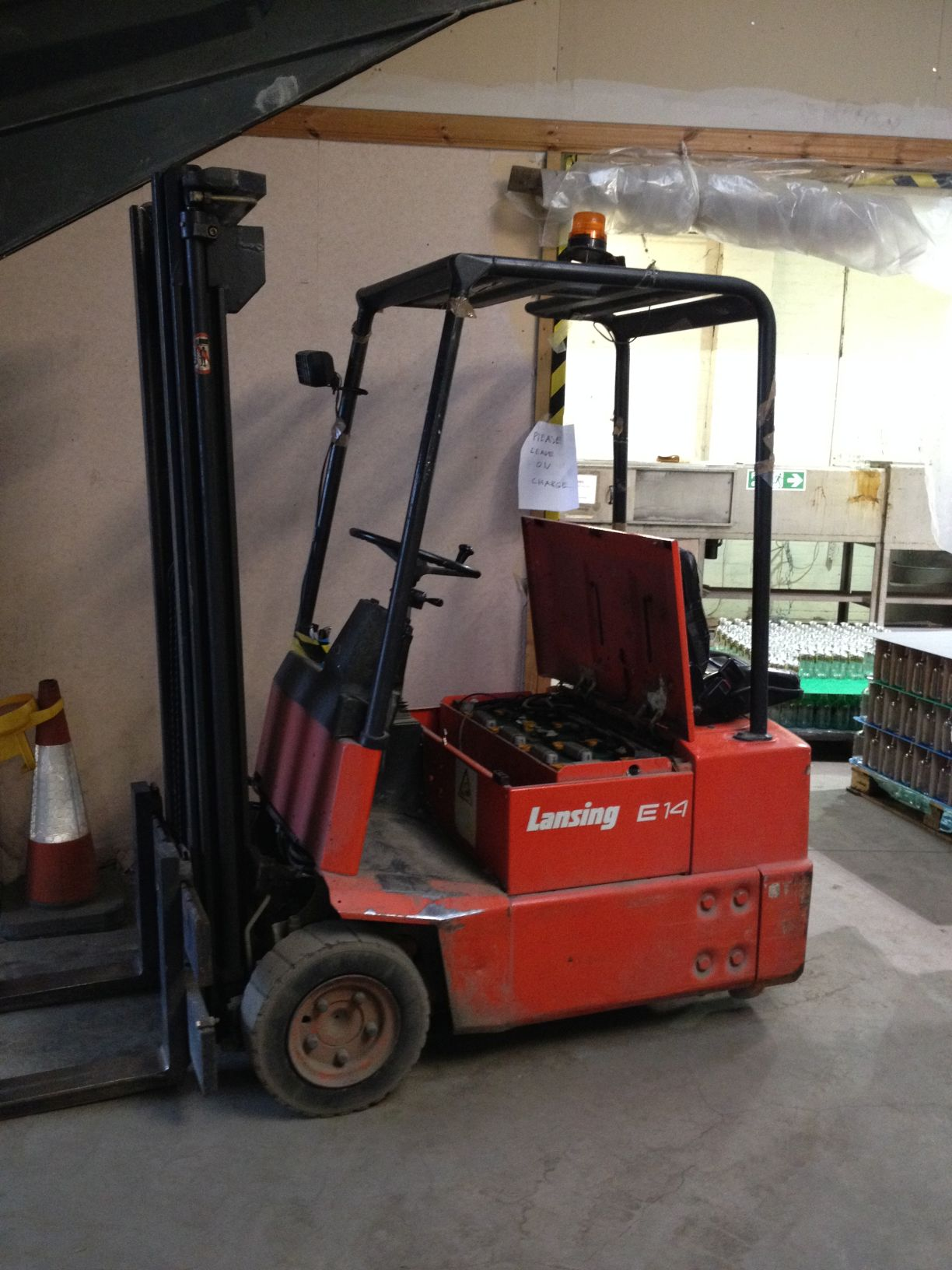 Company fined after worker was injured by a fork lift truck