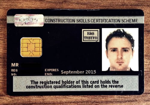 CSCS Card Training