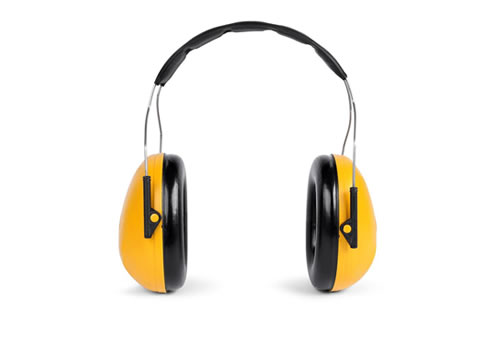 Noise at Work, ear defenders, hearing protection, PPE, noise, health and safety