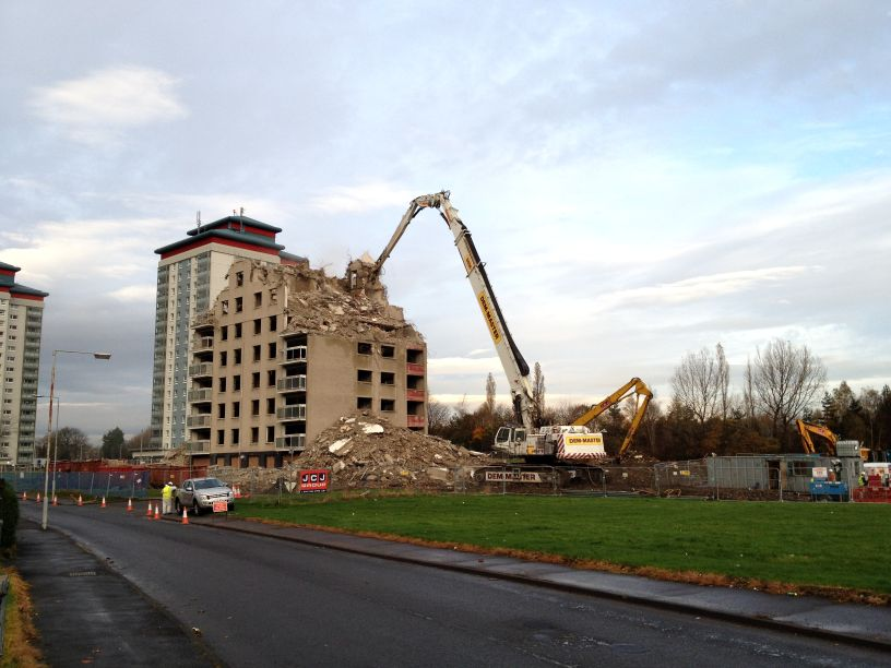 Suspended sentence for contractor over botched demolition job