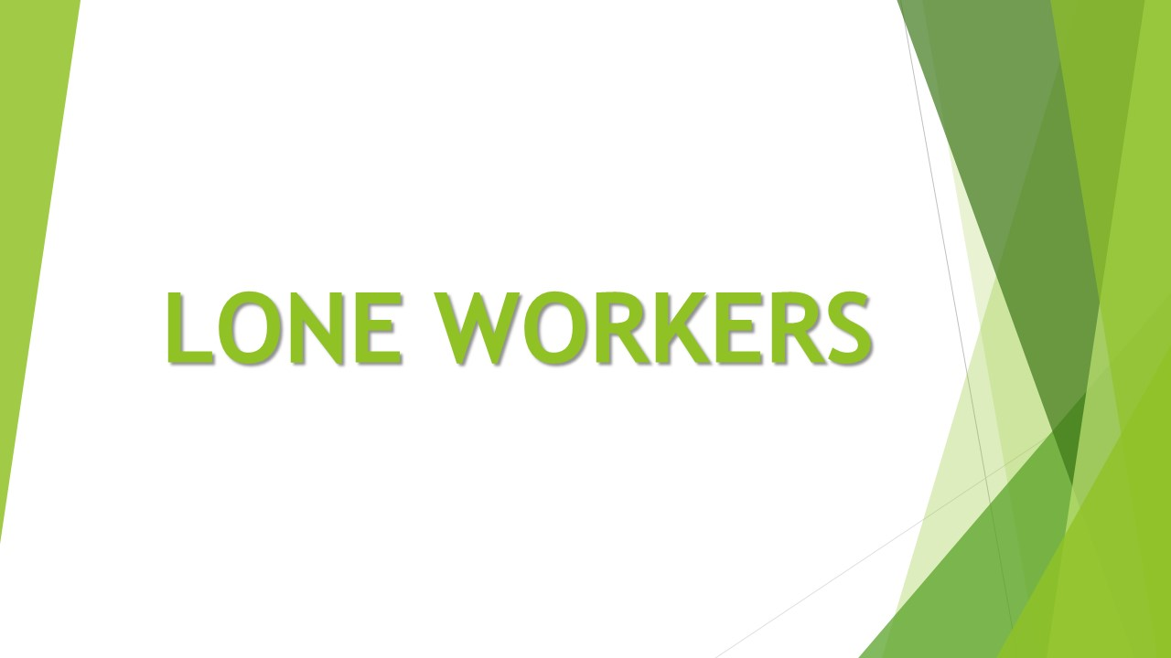 Introduction to Personal Safety for Lone Workers E-Learning