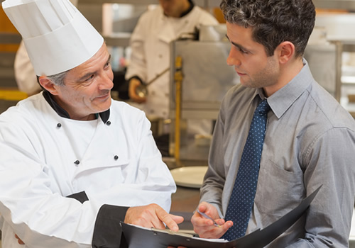 catering industry, health and safety for catering, food safety, fire risk assessments, training